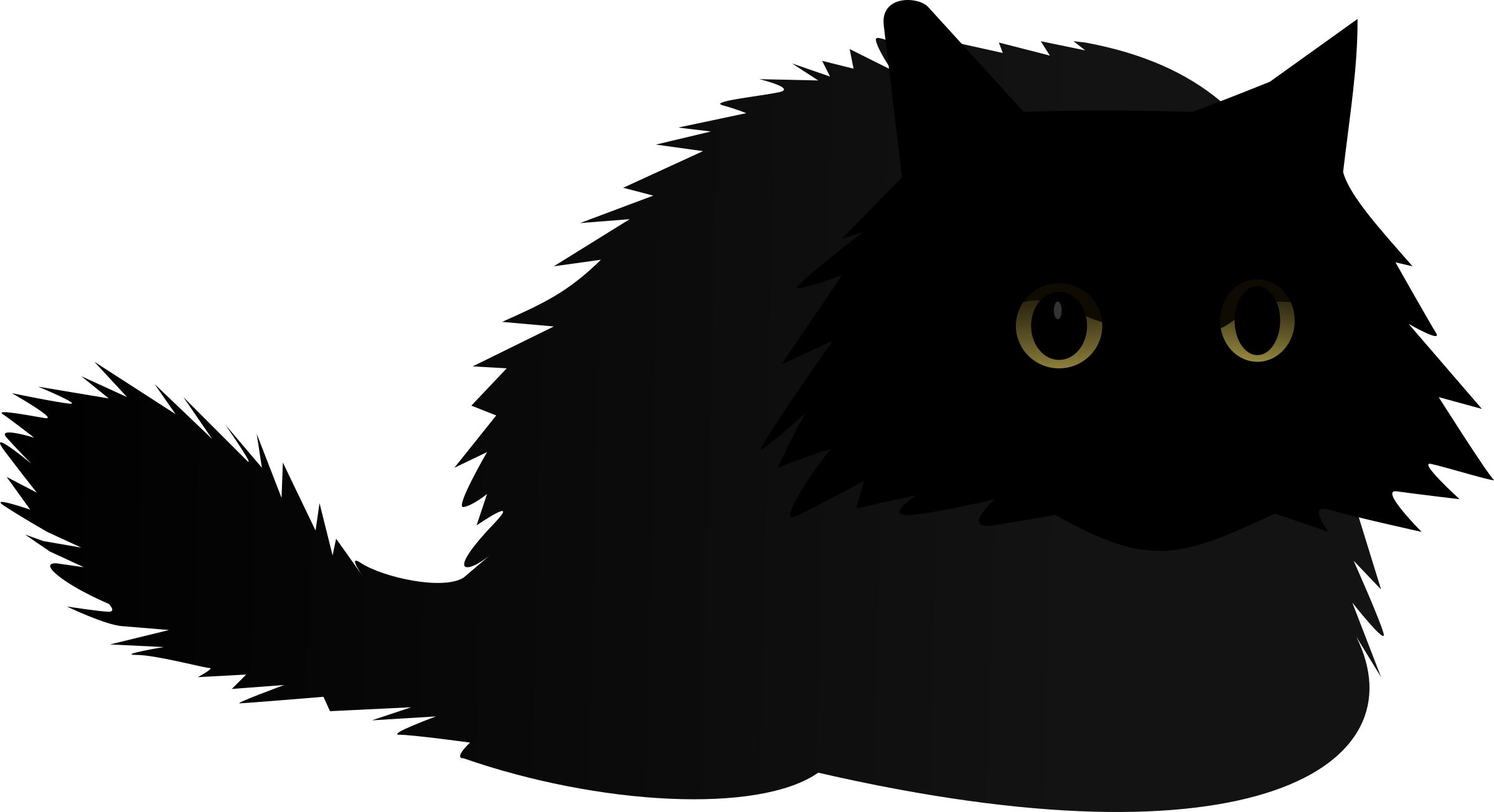 Cat clipart angry vector royalty free download Clipart - Angry cat vector royalty free download