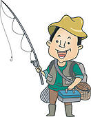 Angler clipart svg royalty free library Angler clipart 3 » Clipart Station svg royalty free library