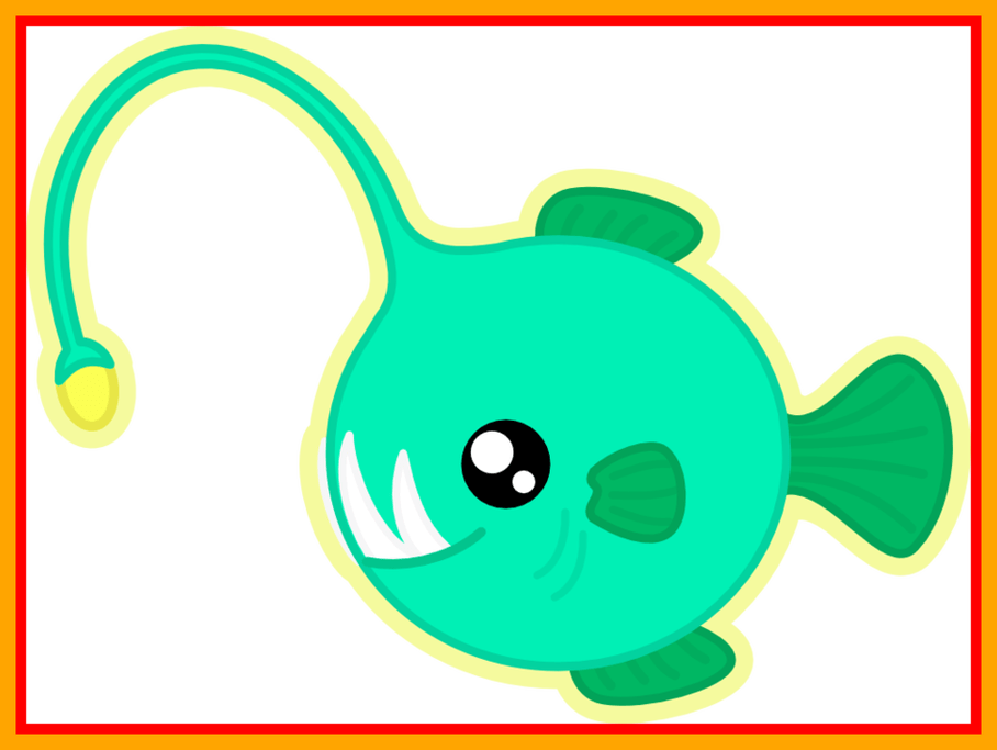 Discus fish clipart clip free stock Appealing Collection Of Angler Fish Clipart High Quality Picture For ... clip free stock