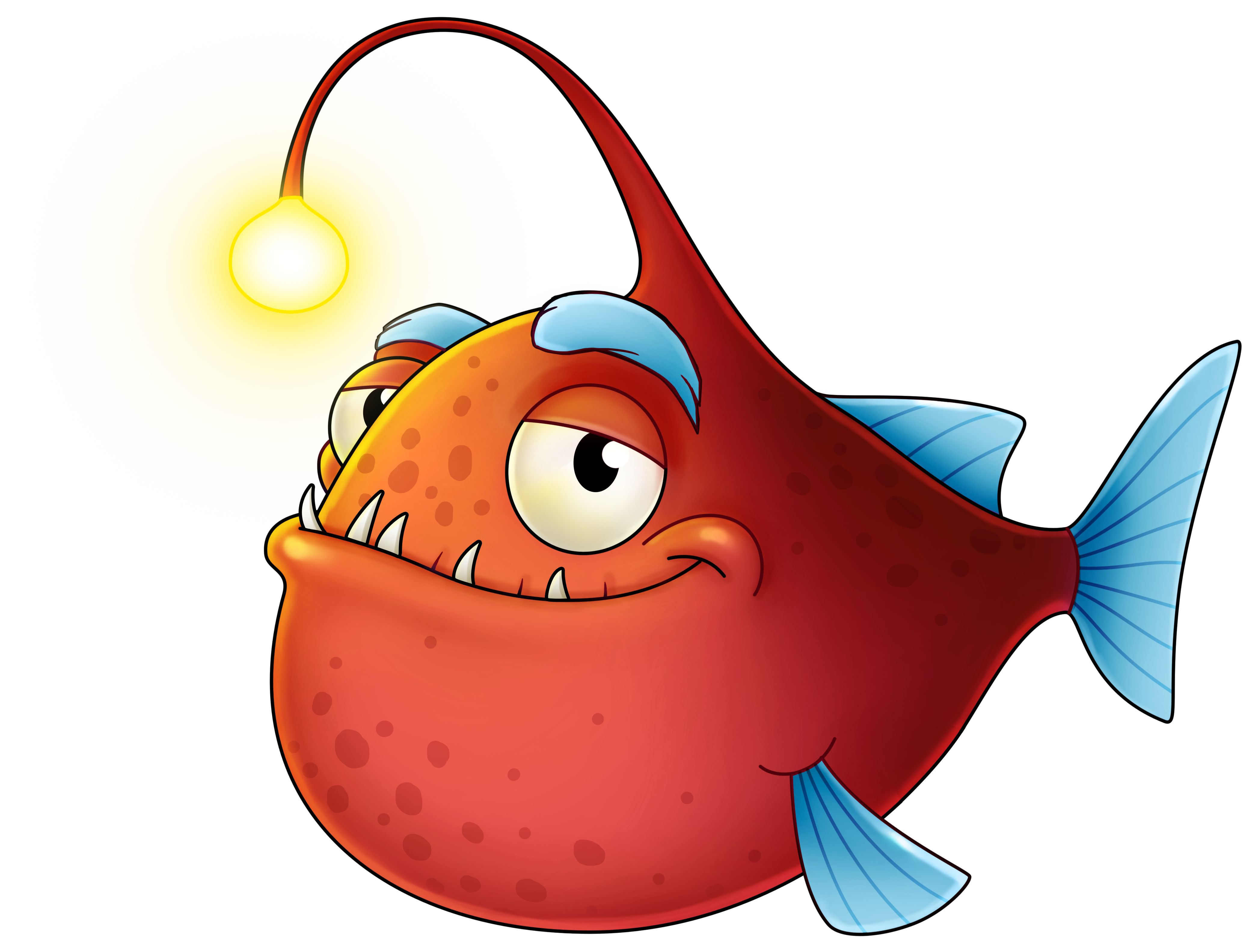 Angler fish clipart jpg free library Playtech - Motivation system jpg free library