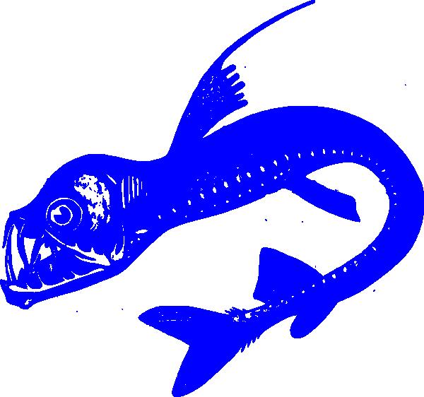 Blue fish clipart banner download Viper Fish Blue Clip Art at Clker.com - vector clip art online ... banner download