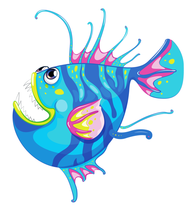 Fish in the ocean clipart download Angler Fish Clipart at GetDrawings.com | Free for personal use ... download
