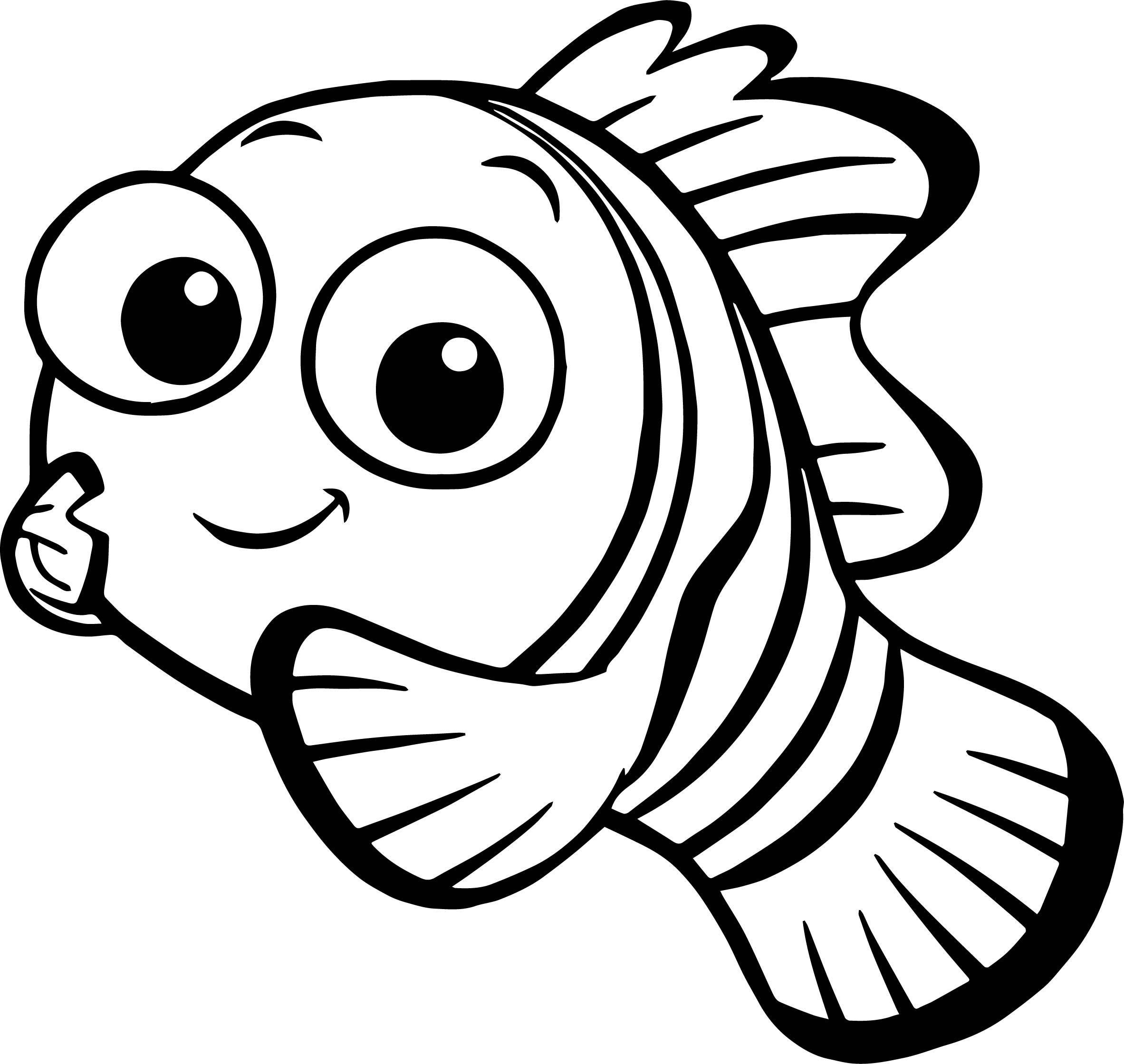 Angler fish cliparts nemo jpg freeuse download Nemo Fish Drawing at PaintingValley.com | Explore collection of Nemo ... jpg freeuse download