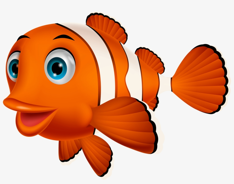 Angler fish cliparts nemo vector free library Fish Clipart Orange Objects - Nemo Fish Png PNG Image | Transparent ... vector free library