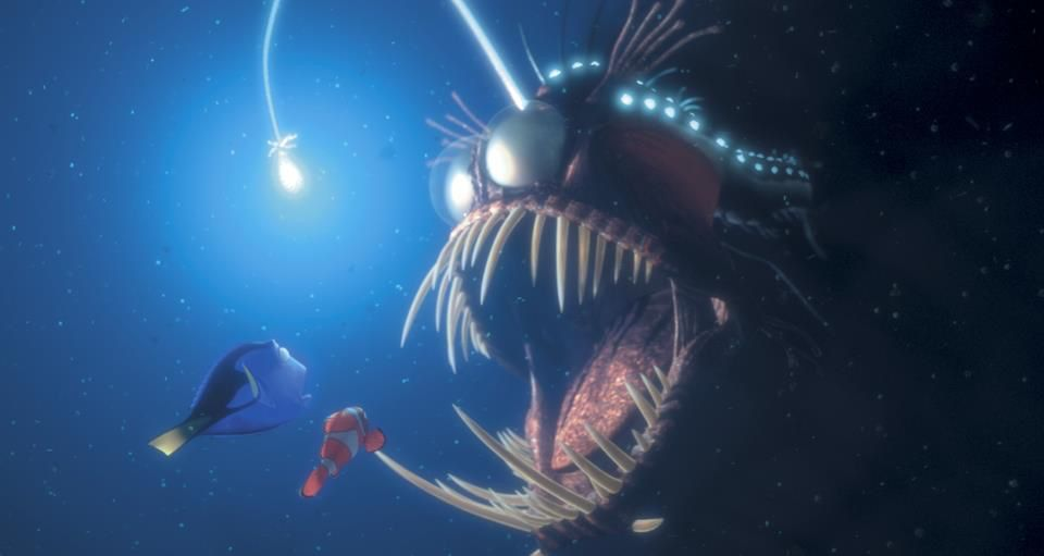 Angler fish cliparts nemo image library library Angler Fish-adapted to the dark- uses its lantern like appendage to ... image library library