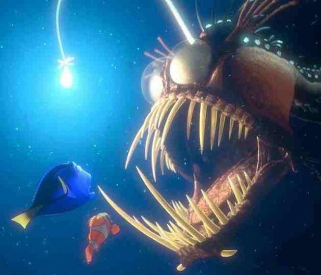 Angler fish cliparts nemo clipart library stock angler fish from \