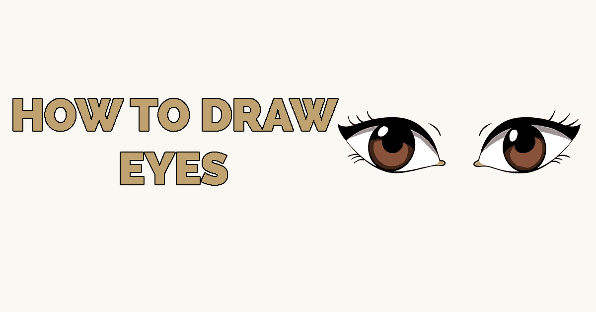 Angry animal eye clipart simple image black and white download How to Draw Eyes – Really Easy Drawing Tutorial image black and white download