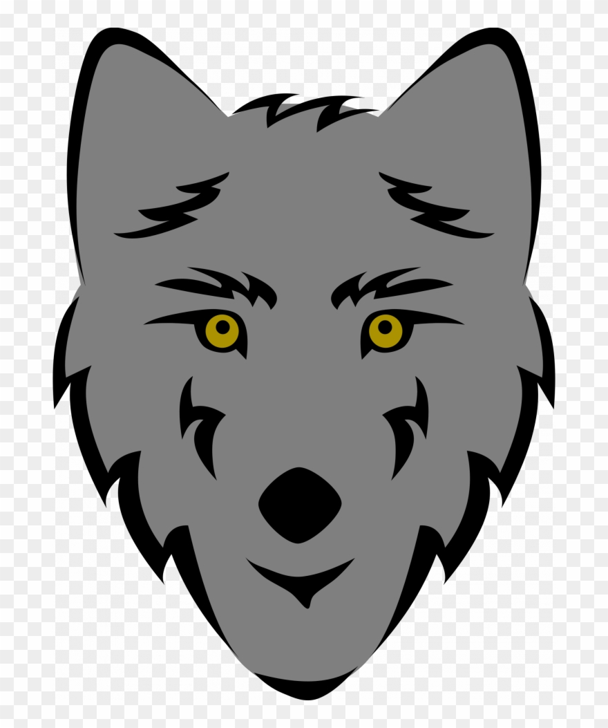 Angry animal eye clipart simple vector transparent download Medium Size Of Wolf And Moon Drawing Easy Cub Angry - Simple Wolf ... vector transparent download