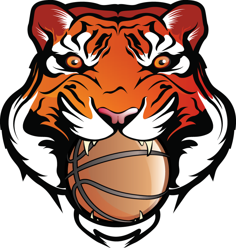 Tiger with basketball clipart clip art transparent stock Bengal Clipart Basketball #2454403 clip art transparent stock