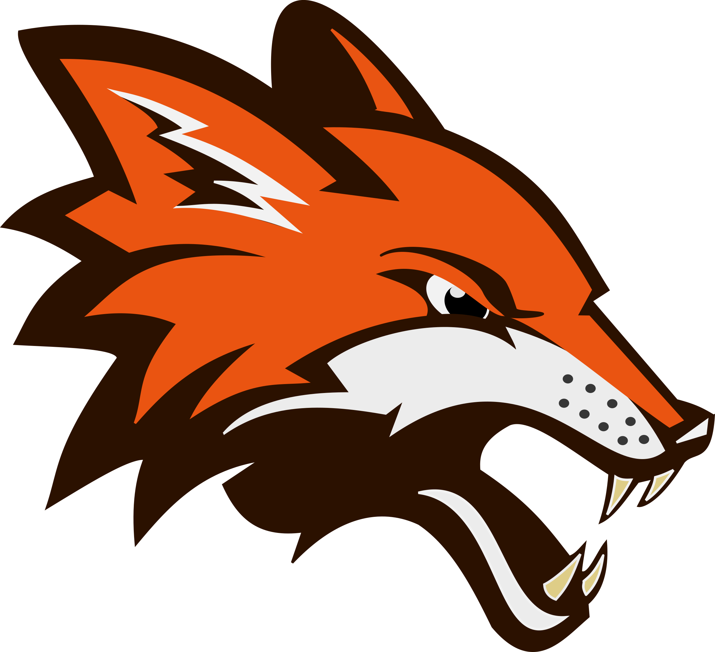 Angry basketball clipart vector freeuse library Angry Fighting Fox - Remix by BobSongs | LES DESSINS | Pinterest | Foxes vector freeuse library