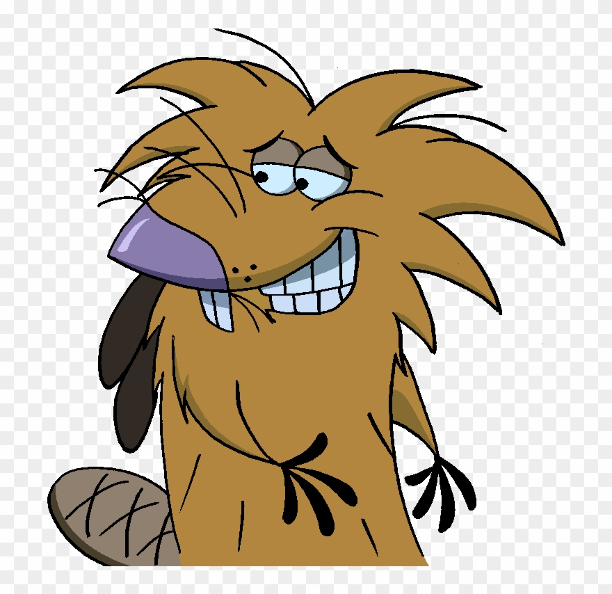 The angry beavers clipart