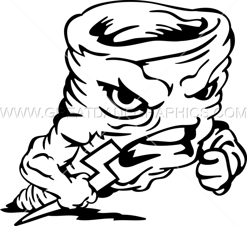 Angry book clipart banner library stock Angry Tornado | Production Ready Artwork for T-Shirt Printing banner library stock