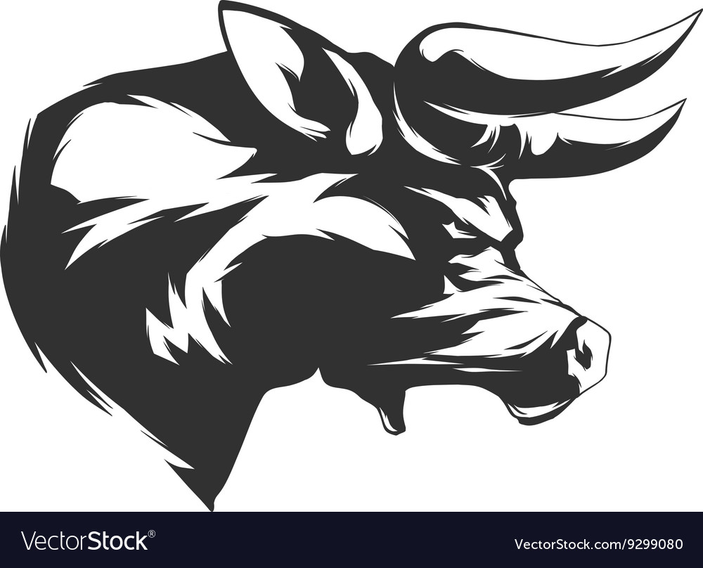 Angry bull vector clipart image free library Angry Bull image free library