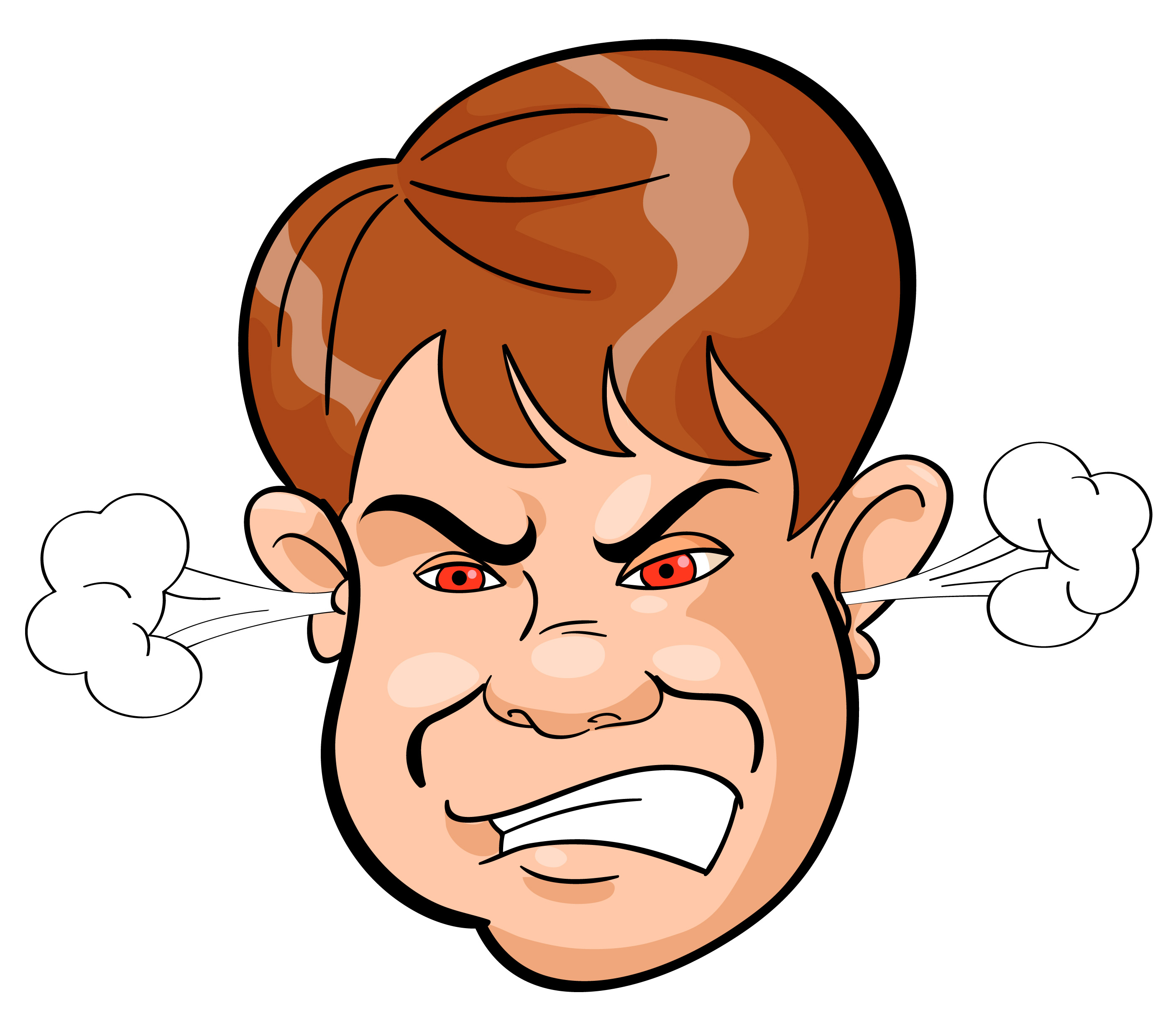 Clipart angry people clip art black and white Pictures Of Angry People | Free download best Pictures Of Angry ... clip art black and white
