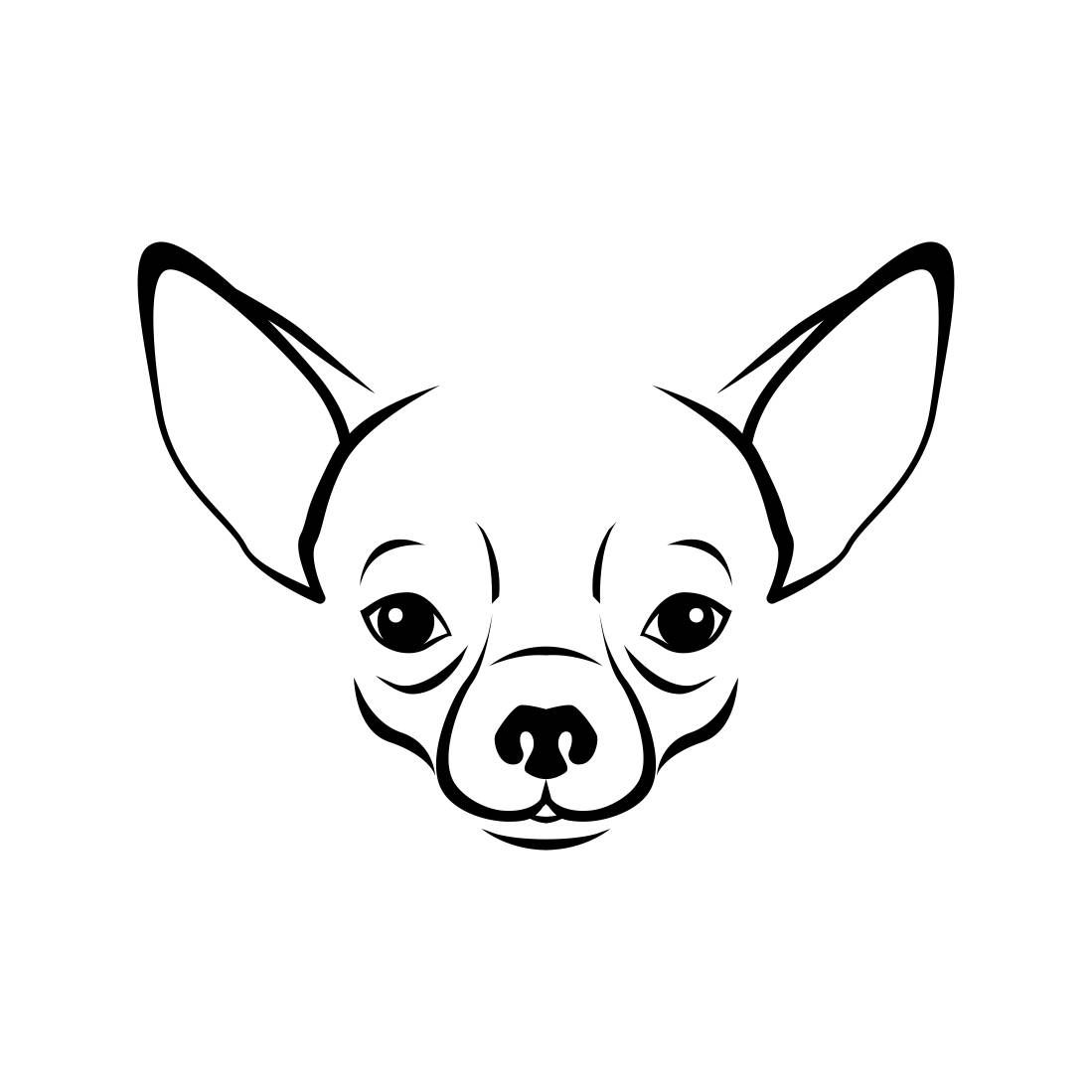 Angry chihuahua clipart clipart stock Chihuahua Dog Head Graphics SVG Dxf EPS Png Cdr Ai Pdf Vector Art ... clipart stock