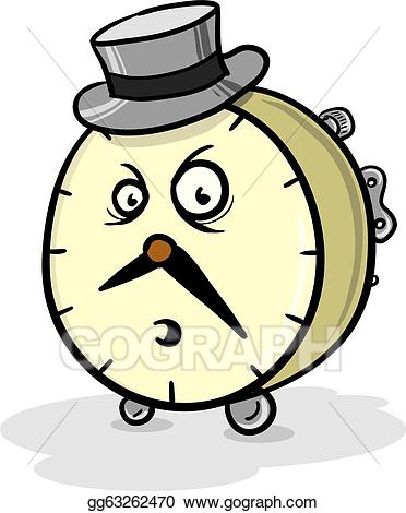 Angry clock clipart vector royalty free download EPS Illustration - Mr. clock. Vector Clipart gg63262470 - GoGraph vector royalty free download