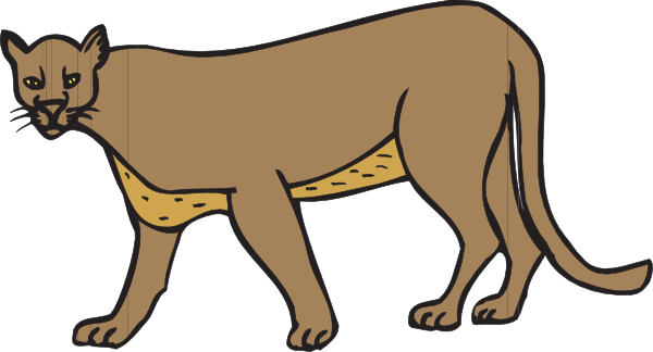 Angry cougar clipart hd jpg royalty free Angry cougar clipart hd - Clip Art Library jpg royalty free
