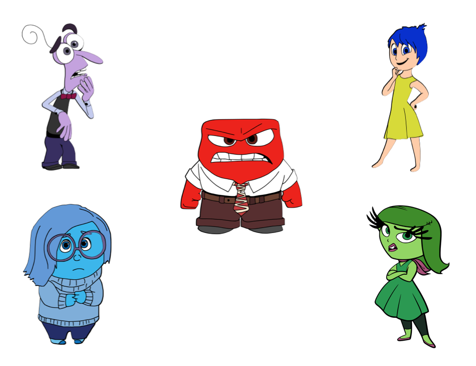 Angry disney characters clipart clip art royalty free Click to Download Here they are all cut out and detailed!! Disgust ... clip art royalty free