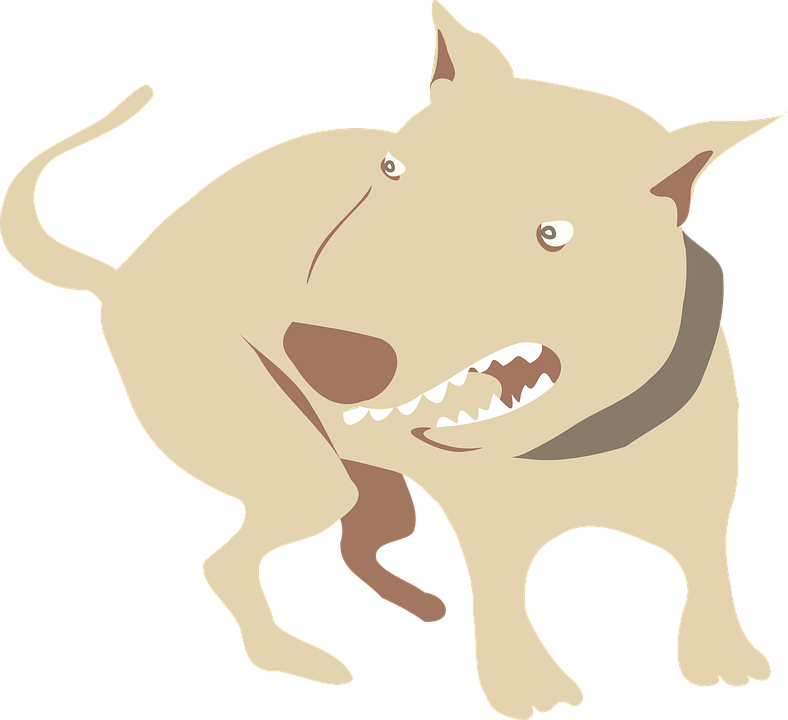 Angry dog clipart picture freeuse Angry Dog Cartoon#4209332 - Shop of Clipart Library picture freeuse