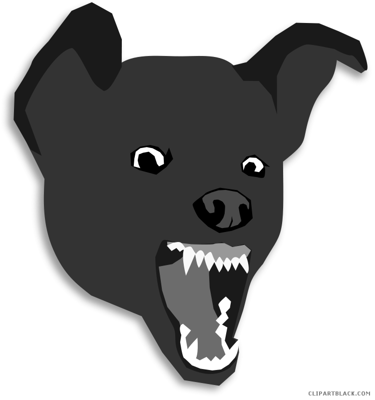 Angry dog clipart vector royalty free download Angry Dog Clipart - ClipartBlack.com vector royalty free download