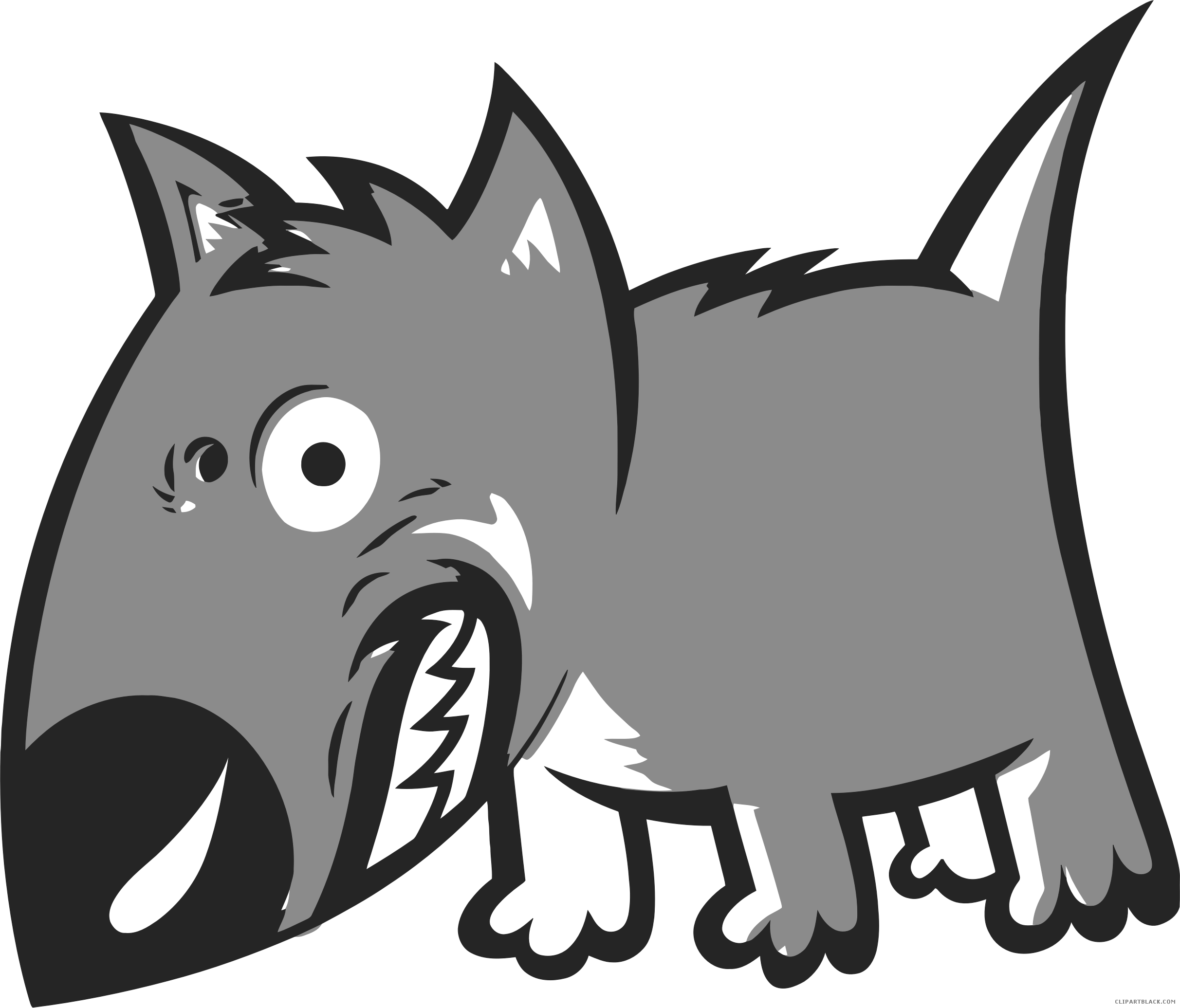 Angry dog clipart vector download Angry Dog Clipart - ClipartBlack.com vector download