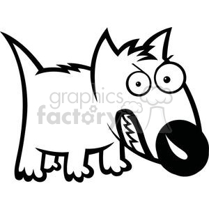 Angry dog pictures clipart royalty free stock cute feisty cartoon dog clipart. Royalty-free clipart # 379890 royalty free stock
