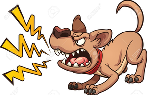 Angry dog pictures clipart vector black and white stock Angry Dogs Clipart | Free Images at Clker.com - vector clip art ... vector black and white stock