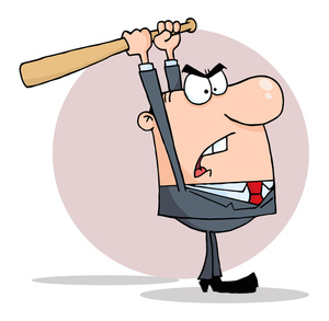 Angry office worker clipart picture transparent download Anger Clipart Image - Angry Office Worker Going Postal picture transparent download