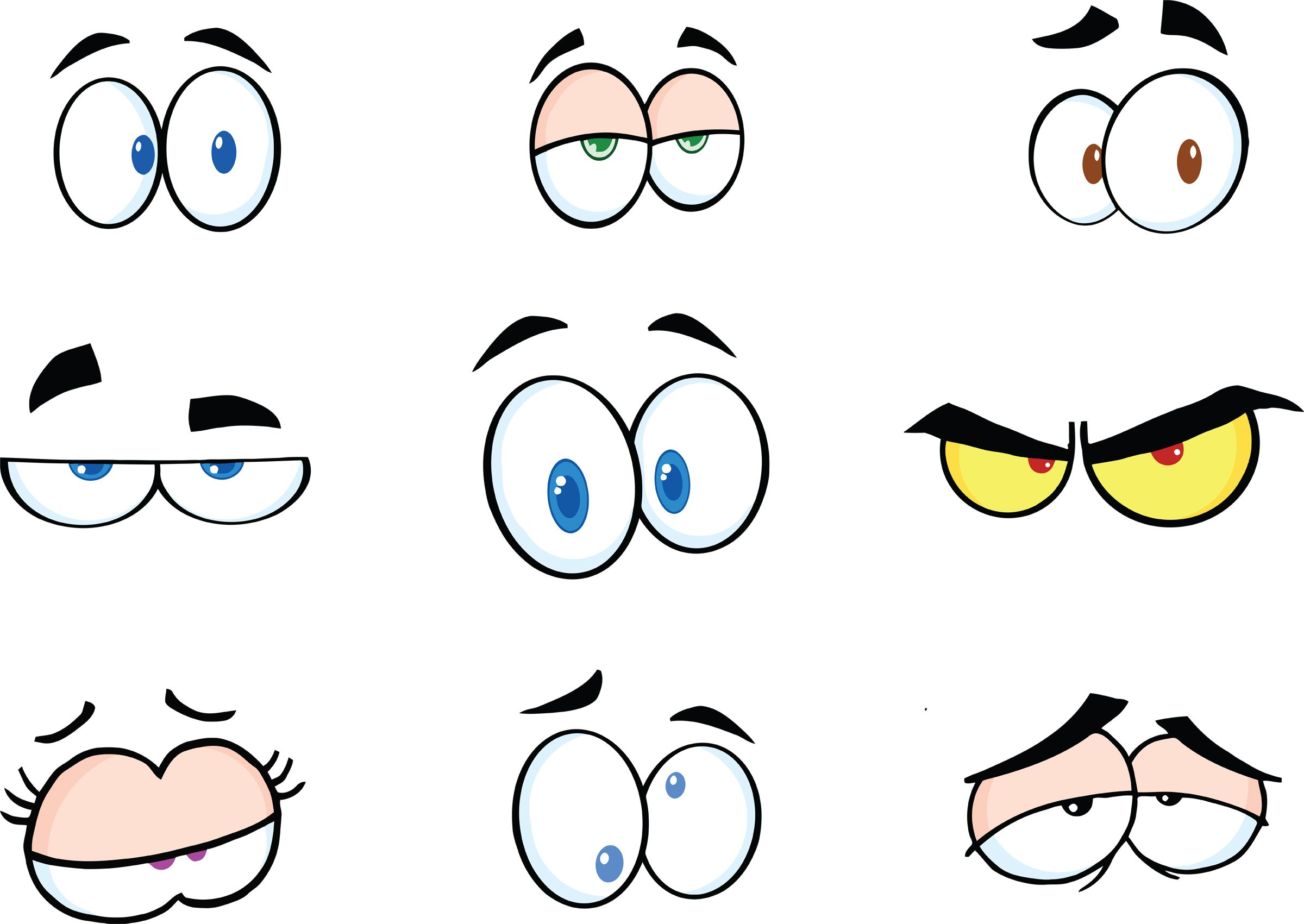 Free clipart of eyes