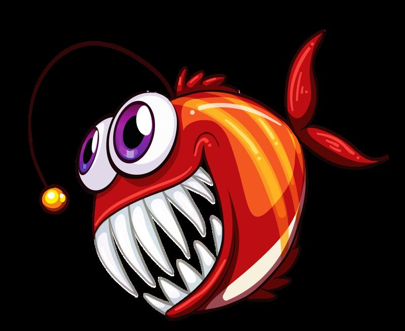 Angry fish clipart picture transparent download Фото, автор Soloveika на Яндекс.Фотках   Les Animaux aquatiques ... picture transparent download