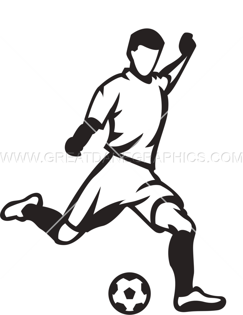 Football player kicker clipart vector royalty free stock 28+ Collection of Football Kicking Drawing | High quality, free ... vector royalty free stock