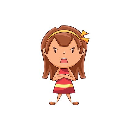 Girl angry clipart vector free library Angry Girl premium clipart - ClipartLogo.com vector free library
