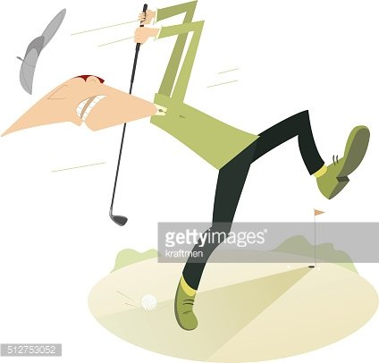 Angry golfer clipart freeuse library Angry Golfer Playing Golf premium clipart - ClipartLogo.com freeuse library