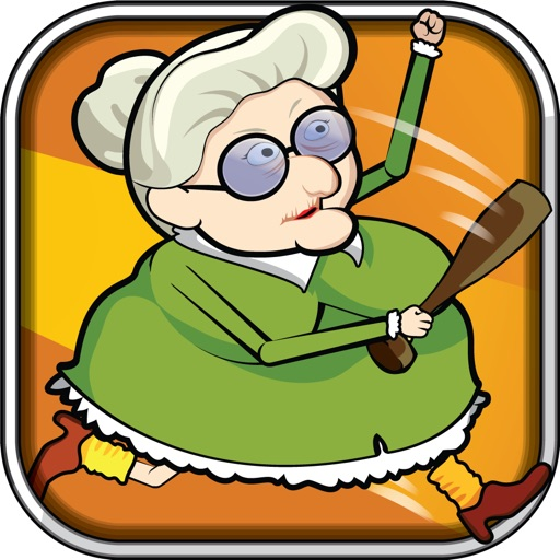 Angry grandma clipart banner free stock Angry Grandma Run Games:Crazy - The most fun games for the bad ... banner free stock