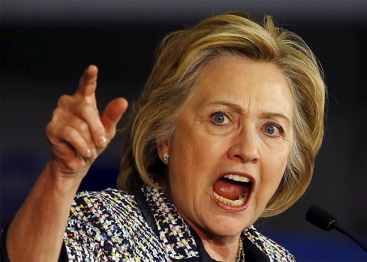 Angry hillary clinton clipart picture freeuse library FIRED UP, READY TO GO? Angry Hillary energizes 1,500 Dems in Texas ... picture freeuse library
