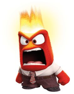 Angry inside out clipart stock Disney/Pixar's Inside Out - Anger Lifesize Standup | Disney, Good ... stock