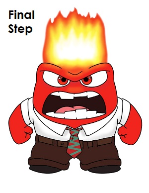 Angry inside out clipart jpg freeuse library How to Draw Anger (Inside Out) jpg freeuse library