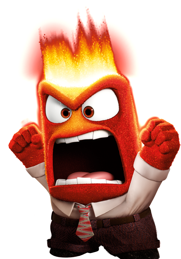 Angry inside out clipart clipart transparent stock Anger | Pinterest | Disney wiki, Cartoon and disney Pixar clipart transparent stock