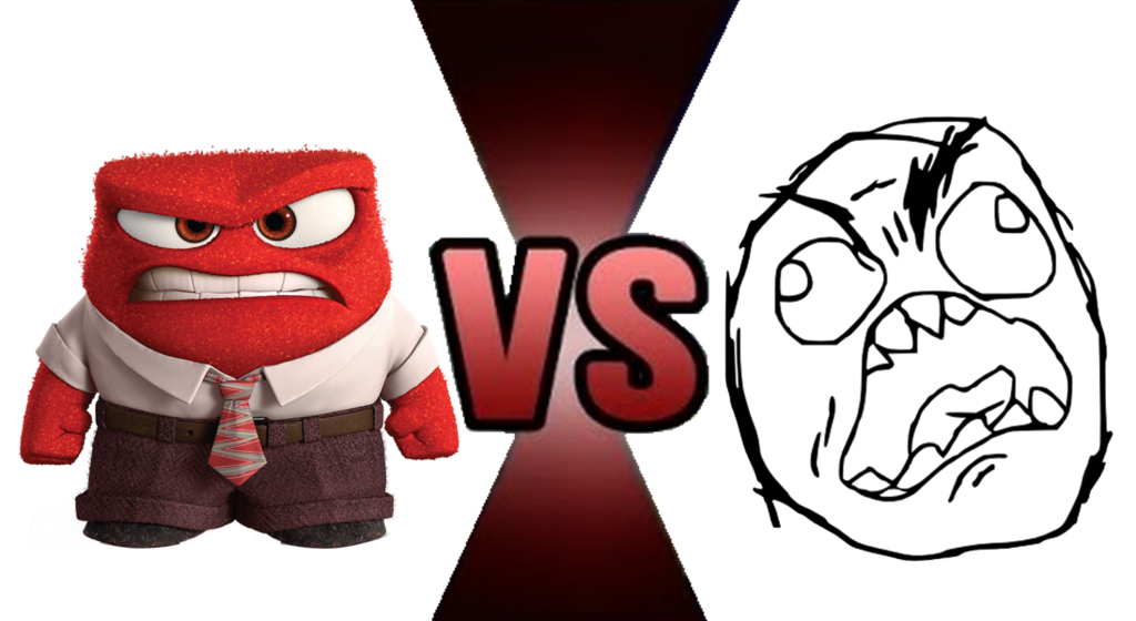 Angry inside out clipart clip library download Anger (Inside out) versus Rage Guy by BrownPen0 on DeviantArt clip library download