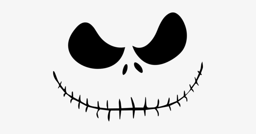 Angry jack face clipart image free library Jack Skellington Face PNG Images | PNG Cliparts Free Download on SeekPNG image free library