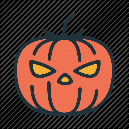 Angry jack face clipart svg transparent download \'Halloween Filled Outline\' by Artem Kovyazin svg transparent download