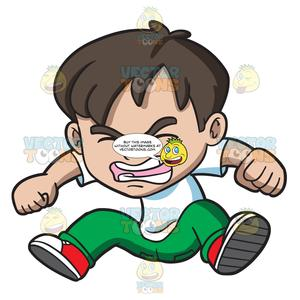 Angry little asian clipart free An Angry Little Boy Jumping In Frustration free