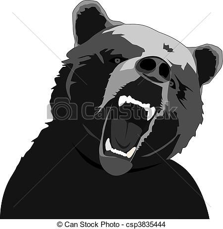 Angry mama bear clipart svg royalty free download Bear Illustrations and Clipart. 64,910 Bear royalty free ... svg royalty free download