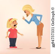Angry mom face clipart image royalty free Angry Mother Clip Art - Royalty Free - GoGraph image royalty free