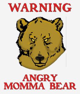 Angry momma bear clipart clip art stock Angry Bear Gifts on Zazzle CA clip art stock