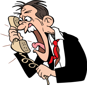 Angry on phone clipart clip freeuse stock Phone Call Cliparts - Cliparts Zone clip freeuse stock