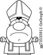 Angry pope clipart banner library Pope Clip Art - Royalty Free - GoGraph banner library