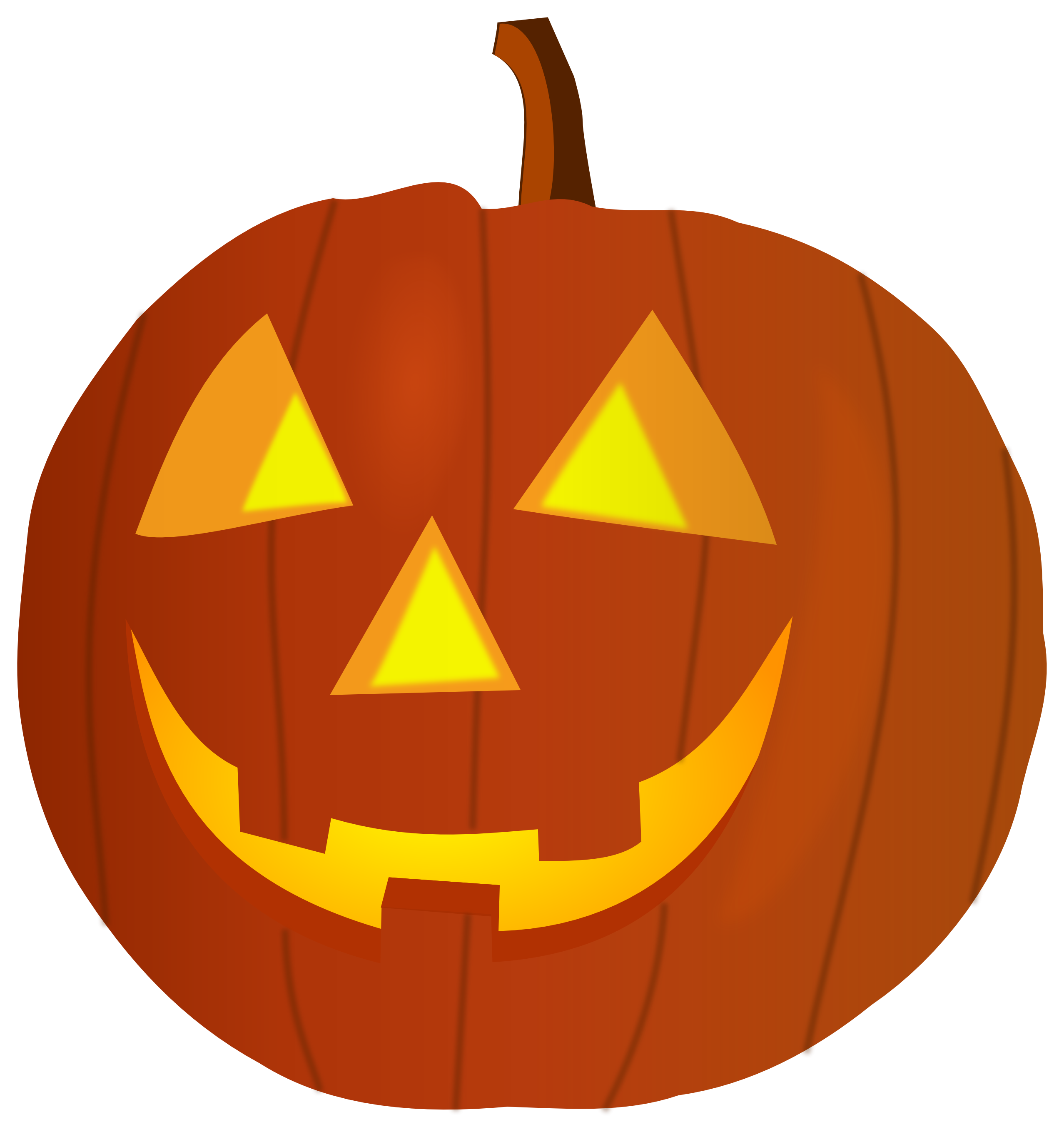 Scared pumpkin clipart png 28+ Collection of Halloween Pumpkin Face Clipart | High quality ... png