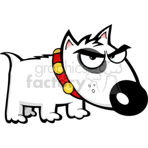 Angry puppy clipart graphic freeuse small-angry-dog clipart. Royalty-free clipart # 384354 graphic freeuse