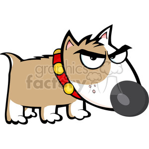 Angry puppy clipart clipart stock cartoon-angry-puppy clipart. Royalty-free clipart # 384272 clipart stock